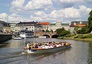Canal Boat Trip, Gothenburg, Sweden