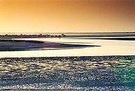 Sunset in Umm Al Quwain, United Arab Emirates