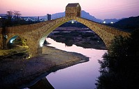 Pont del Diable (Devil's Bridge). Martorell, Barcelona province, Catalonia, Spain