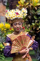 Indonesia, Bali, Legong Dancer