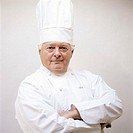 Chef with arms crossed, portrait
