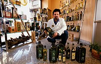 Olive oil shop, calle Fernando VI. Madrid. Comunidad de Madrid. Spain.