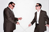 Two blind men