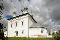 Convent of the Intercession founded in 1364, Suzdal. Golden Ring, Russia