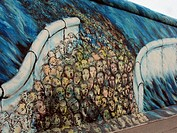 Berlin Wall section. Berlin, Germany