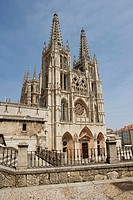 Gothic cathedral (13th century), Burgos. Castilla-Léon, Spain
