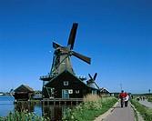 Windmill, Zaanse Schans, Netherlands