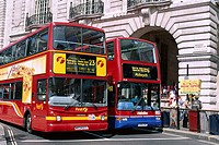 Doubledecker Buses, Regent Street, London, England