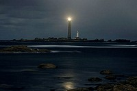 Ile Vierge Lighthouse Finistere France