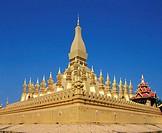Wat That Luang Vientiane Laos