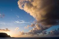 Bali Hai Hanalei Bay Kauai Hawaii, USA