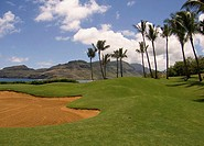 Golf Course Kauai Hawaii, USA