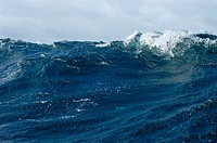 Rough Seas. Southern Ocean. Roaring 40s. East of Stewart Island, New Zealand. South Pacific Ocean