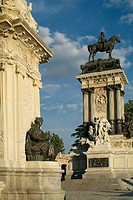 Monument to Alfonso XII, Retiro Park, Madrid, Spain