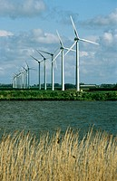 Wind generators. Holland