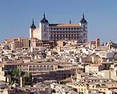 Alcázar, Toledo. Castilla-La Mancha, Spain