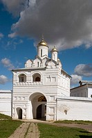 Church over the Gate (1515), Convent of the Intercession founded in 1364, Suzdal. Golden Ring, Russia