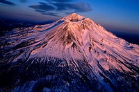 Mount Shasta volcano, Northern California, USA