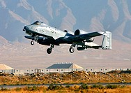 BAGRAM AIR BASE, Afghanistan (AFPN) -- An A-10 Thunderbolt II takes off on a combat mission. Since Sept. 15, A-10s here have flown more than 1,700 com...