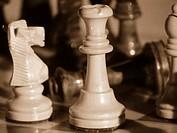 Chess, Knight, Queen