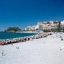 Playa del Paseo beach, Almuñécar. Granada province, Andalusia, Spain
