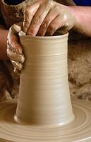 Pottery, Bonxe. Lugo province, Galicia, Spain