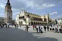 polonia, cracow, rynek glowny, market place