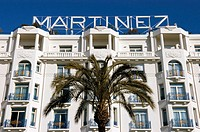 The Hotel Martinez is a 1930s palace displaying an elegance typical of the French Riviera and featuring Art Deco style throughout. It is located on th...