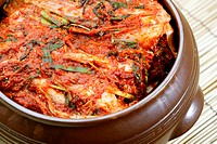 delicious and fresh Korean Kimchi