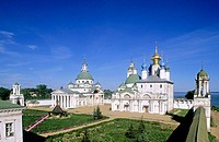 Spaso-Yakovlevsky Monastery (Monastery of St. Jacob Saviour) founded in the late 14th century, Rostov the Great. Golden Ring, Russia
