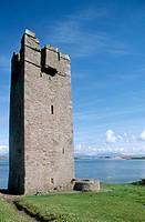 Kildaunet Castle. Achill Island. Co. Mayo. Ireland.