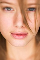 Close-up of a young woman's face (thumbnail)
