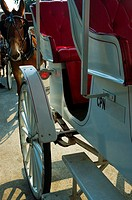 Close-up of a horse cart, New Orleans, Louisiana, USA