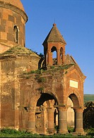 Harichavank Monastery (5th-12th century) in Harich, Artik District. Armenia