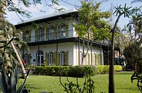 Ernest Hemingway Residence. Key West, Florida. USA.