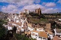 Setenil de las Bodegas. Cádiz province. Andalusia. Spain.