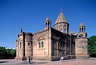 Echmiadzin Cathedral (4th-19th century). Armenia