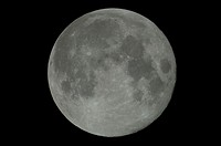 Moon, photographed 12 hours past Full. Storrs, Connecticut.