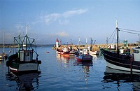 France, Brittany, Erguy harbour