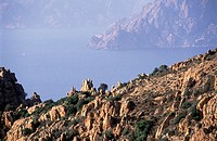 France, Corsica, The Calanches of Piana