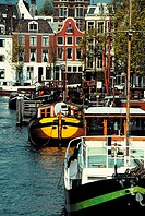 The Netherlands, Amsterdam, canals