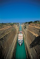 Peloponnese, canal of Corinth (thumbnail)