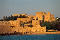 Rhodes, Palace of the Grand Masters and ramparts