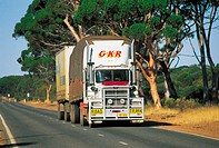 Western Australia, truck