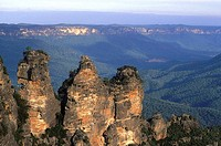 Australia, Blue mountains, Three sisters