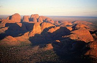 Australia, Northern territories, aerial of the Olgas