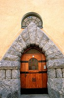 Finland, Helsinki, Jugendstil door