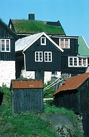 Denmark, Faroe Islands, T=rshavn, Tinganes district