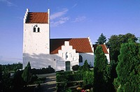 Denmark, Tuse, Romanesque church (13rd century)