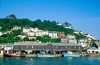 England, Cornwall, Looe harbour